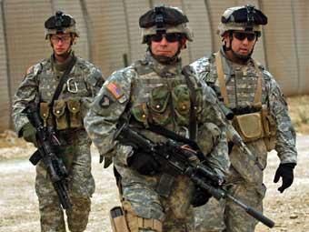 Американские военнослужащие в Ираке