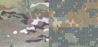 Расцветки MultiCam и UCP Delta (слева направо)