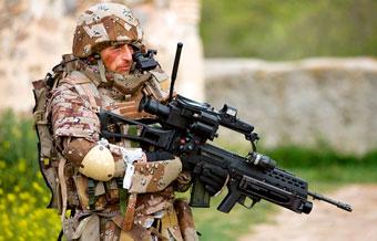 Делегация МО РФ примет участие в презентации боевой экипировки «Солдат будущего» в Италии