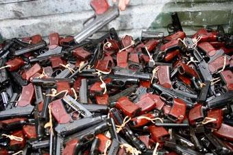 Кабинет Министров Украины принял решение об утилизации 366 тыс. ед. стрелкового оружия IV категории