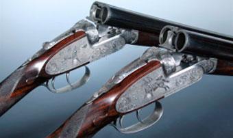 Уникальная пара ружей Purdey