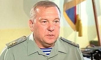 Командующий ВДВ генерал-лейтенант Владимир Шаманов