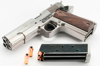 Arsenal Firearms представила сдвоенный пистолет M1911A1
