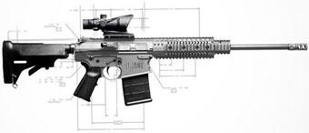 Компания NEMO Arms представила винтовку за $100 000
