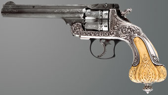 Smith & Wesson Presentation and Exhibition Frontier Tiffany & Co Revolver, circa 1892-93