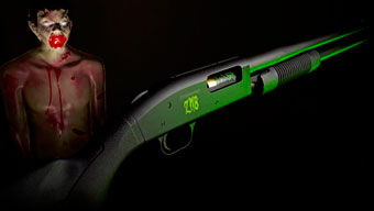 Mossberg 500 для охоты на зомби