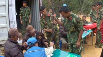 Непал - оружие отдадут через шестнадцать лет
