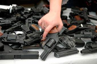 В Киеве начинается месячник добровольной сдачи оружия