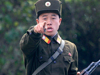Северокорейский военный