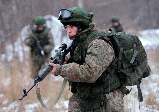 экипировка военнослужащих «Ратник»
