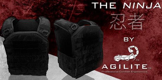 Компактный жилет Agilite Ninja Plate Carrier