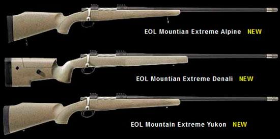 Новая линейка охотничьих винтовок McMillan
