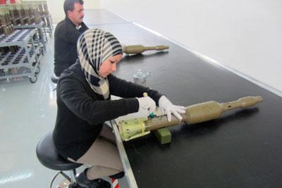 Производство РПГ-32 в Иордании