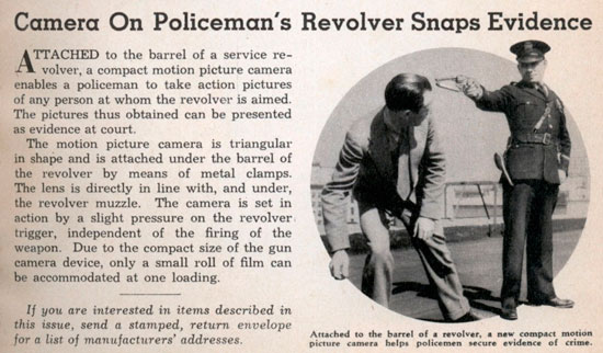Ретро камера-револьвер