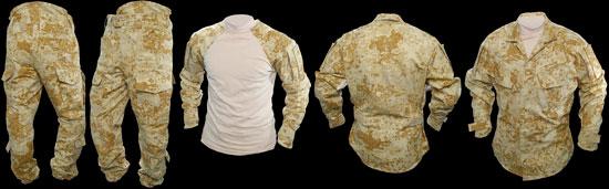 Новая полевая униформа в камуфляже PenCott от Gryphon Defense Technologies