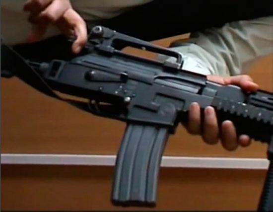 Гибрид М-16 с АК-47