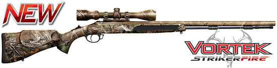 Vortek StrikerFire™ .50 cal Full Realtree Xtra Camo with 3-9x40 Scope R29-564426NS
