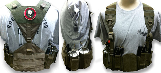 Low Vis Chest Rig