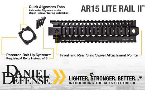 Daniel Defense AR15 Lite Rail II
