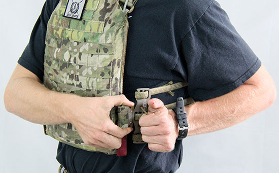 Derma Quick Release Plate Carrier