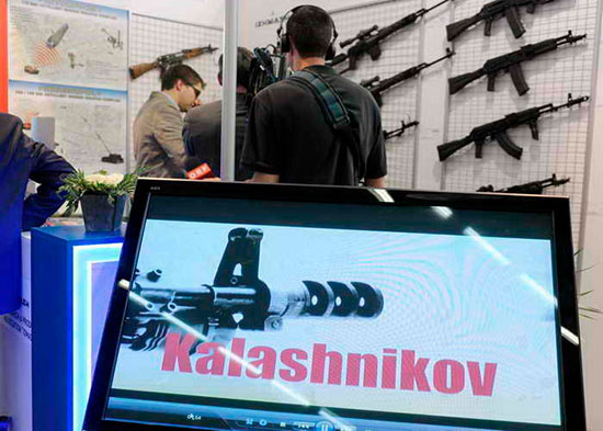 Концерн «Калашников» расширил экспортную линейку боевого оружия