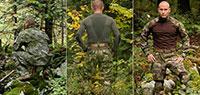 Представлены новые камуфляжи из серии Landcamo ABD и первые модели одежды в ABD SERE