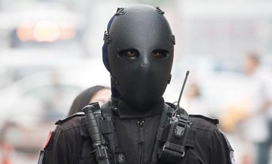 Правительство Тайваня экипирует своих военных безликими пуленепробиваемыми масками