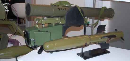 ПТРК РК-3 «Корсар» с ракетой Р-3