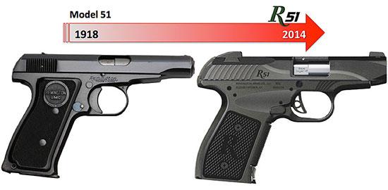 Ремингтон возвращает Model 51 в новом исполнении