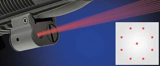 Center Mass Laser