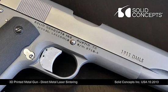 Colt М1911 от Solid Concepts