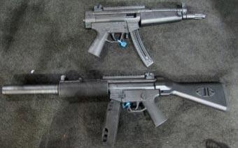 винтовка и пистолет ATI GSG-522