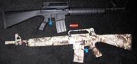 карабин 12 калибра на основе AR-15