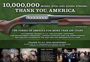 Самое популярное ружье в Америке