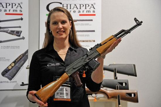 Chiappa: AK-22 - semi-automatic rimfire carbine