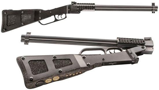 Комбинированное складное ружье с возможностью смены калибра