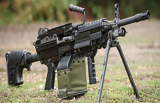 Minimi Mk3 Machine Gun