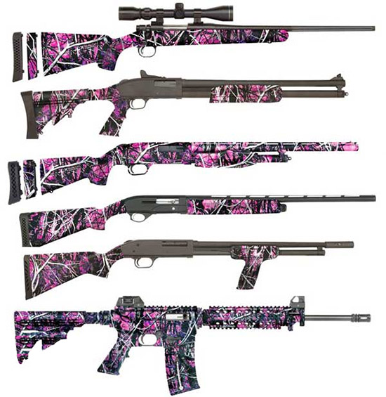 Mossberg Muddy Girl Firearm Lineup