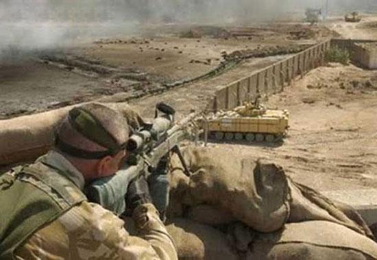 Новый рекорд британского снайпера