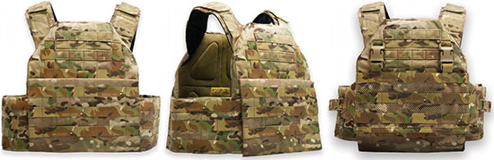 Платформенный жилет Platatac Badger ASAD Armour Carrier