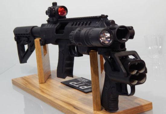 Универсальная платформа для объединения нелетального комплекса «ОСА» и обычного огнестрельного оружия семейства «Глок»