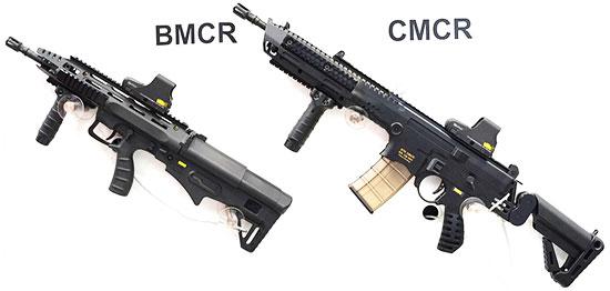STK BMCR (Bullpup Multirole Combat Rifle) и STK CMCR (Conventional Multirole Combat Rifle)