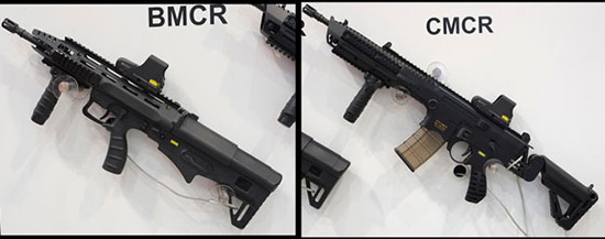 Eurosatory 2014. Сингапур продемонстрировал штурмовую винтовку BMCR