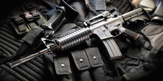 Штурмовая винтовка М-4