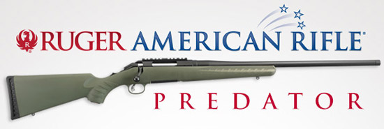 Ruger American Rifle® – Predator Model