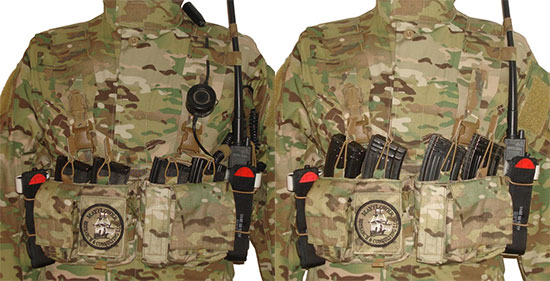 Pusher Chest Rig