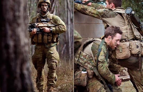 Вооруженные силы Австралии переходят на новый камуфляж и униформу