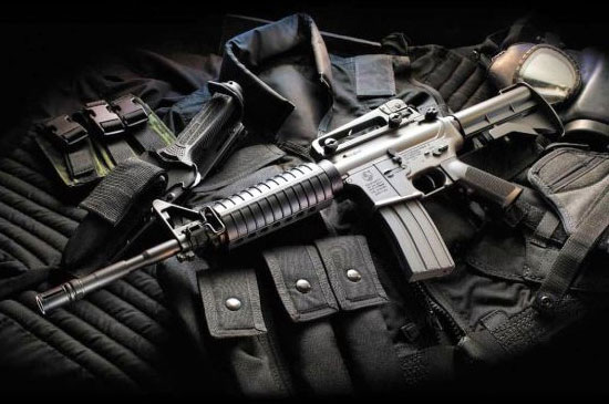 Штурмовая винтовка М-4 калибра 5,56 мм