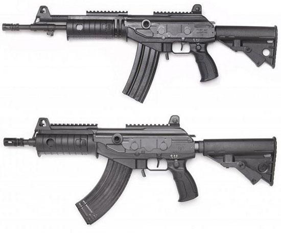 Штурмовые винтовки «Форт-227» (сверху) и «Форт-228» (снизу)
