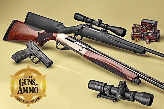 Победители в номинации продукт года от журнала Guns & Ammo